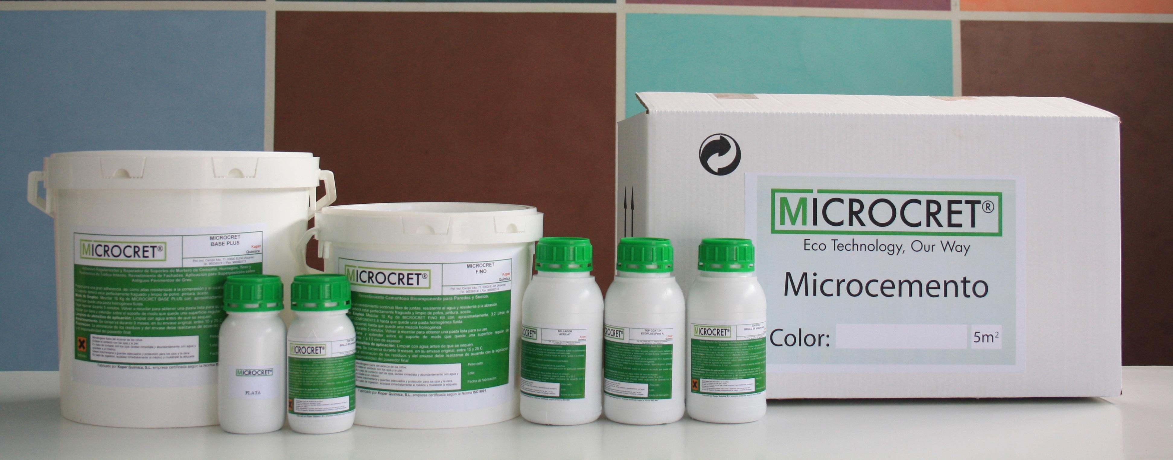 Oferta microcemento microcret tu empresa de microcemento en alicante - Microcemento alicante ...